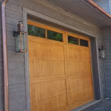rutherford les solid wood garage doors in alder by appwood