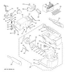 ge refrigerator wiring diagram ice maker zookastar com ge refrigerator wiring diagram ice maker rate ge model pct23shpbss side by side refrigerator genuine parts