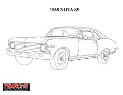 57 chevy coloring pages color bros