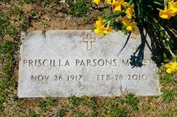 Priscilla Parsons Miller (1917-2010) - Find A Grave Memorial
