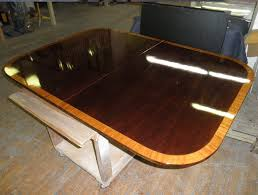 refinishing of dining table of glossy lacquer finish