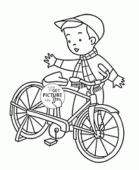 Small Picture Bicycle Coloring Pages jacbme