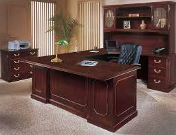 wood home office. Wood Home Office Desk With Hutch