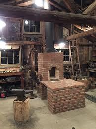 brick coal forge side draft