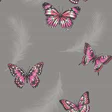 Pink Wallpaper For Bedroom Girls Bedroom Butterfly Wallpaper In Pink White Teal More New