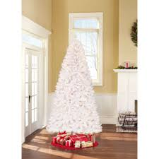 Pre Lit Christmas Tree With Colored And White Lights Bathroom Christmas Tree Walmart White Trees For Sale At