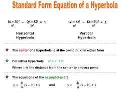 standard form of the equation