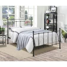 PRI All-in-1 Black Queen Bed Frame DS-2644-290 - The Home Depot