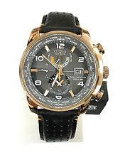 mens citizen eco drive watch citizen at9013 03h world time eco drive rose gold men s watch 3 years warranty
