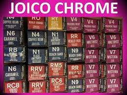 Joico Permanent Hair Color Chart Lajoshrich Com