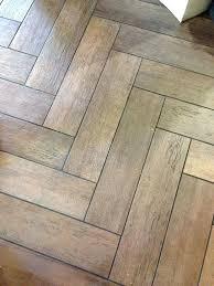 faux wood tile floor patterns