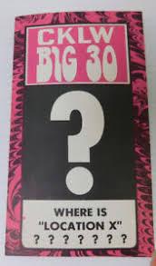 Cklw Big 30 Detroit Music Chart Week Of October 31 1967