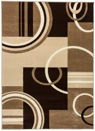 area rug designs simplistic interior and stunning round shaped brown black rugs kaleen casablanca geometric surripui plush for bedroom living room s