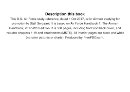 Air Force Mkts Chart 2017 Read Study Guide For Testing To Staff Sergeant Air Force