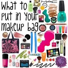 what to put in your makeup bag for