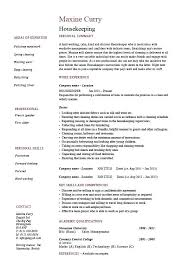Cleaner Sample Resume Sample Resume For Cleaning Job Cleaner Resume