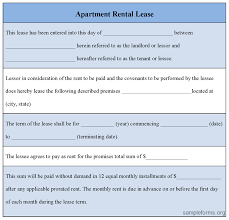 Generic Residential Lease Agreement Classy Apartment Rental Lease Form Denmarimpulsarco