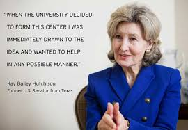 Hand picked seven admired quotes by kay bailey hutchison image German via Relatably.com