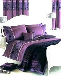purple king size bedding canada duvet cover quilt plain check kin