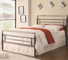 metal bed headboard queen. Unique Bed Coaster Furniture Queen Clean Lined Metal Headboard And Footboard Bed In  Black Silver Throughout D