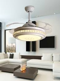 china white color ceiling fan with