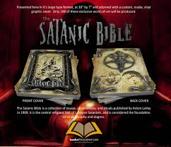 the satanic bible anton lavey custom design by 🔎zoom