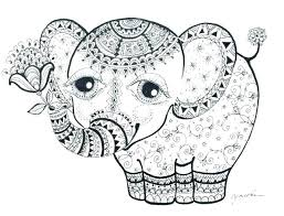 Mother And Baby Elephant Coloring Pages Mommy Page Mom I Love You