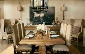 rustic chic dining room ideas. Let S Not Forget How Gorgeous Dining Rustic Tables Are Next To Linen. Country Room Wall Decor Ideas Chic
