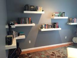 floating shelves without drilling media console wall floating shelves without drilling shelf