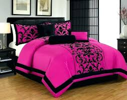 black and pink bedding hot sets comforter queen set turquoise