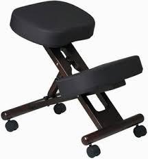 kneeling office chair. Work Smart Wood Finish Kneeling Chair [KCW778] Office H