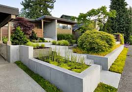 Front Yard Landscaping Ideas Modern Best Garden Reference Of House Small The