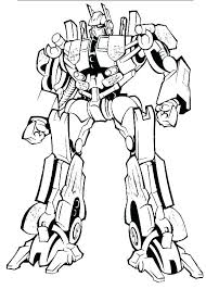 Transformer Bumblebee Coloring Pages Transformers Coloring Pages