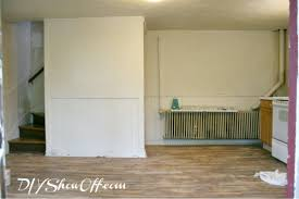 painting apartment wallsHow to Paint and Stencil a Herringbone Accent WallDIY Show Off
