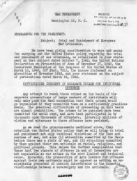 Memorandum From Henry Morgenthau To Samuel Rosenman