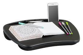 lap desk mydesk black fits up to 15 6