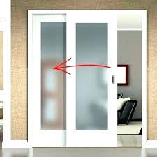 3 track sliding closet doors panel bypass barn door for bedrooms bottom mirror clos