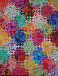 Triangles Fabric Pak & 18 Kaffe Fassett Collective prints to make 52