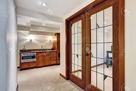 office french doors. View Of Hallway With French Door To Office Room Stock Photo - 30283343 Doors