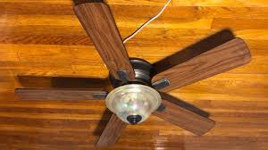 hampton bay hawkins ceiling fan distressed oak blades you