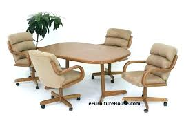 rolling dining chairs dining chairs casters dining chairs on casters decoration made kitchen table and rolling