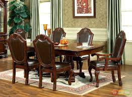 Formal Dining Room Sets For 8 Traditional Dining Chairs Chateau Traditional Formal Dining Room