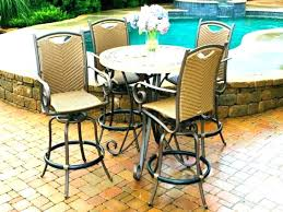 tall outdoor bistro set high top patio table set and chairs tall outdoor bistro sets on patio piece high
