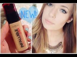 new l oreal 24 hour infallible foundation first impressions review