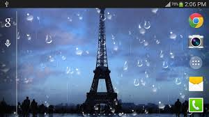 Download Rainy Paris Live Wallpaper Pro For Android Myket