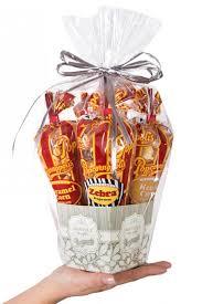 case of 6 mini wedding gift baskets