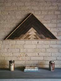 reclaimed lath wall. reclaimed wood wall art decor lath pattern by eleventyonestudio