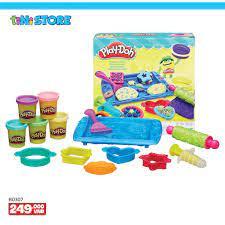 Anan_kids Đồ chơi đất nặn làm bánh Play Doh cho bé chơi mãi không chán