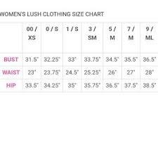 Lush Clothing Size Chart Lush Puff Sleeve Dress