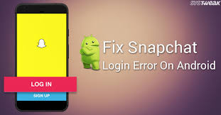 Error How Snapchat On Android Fix To Login 0Wp6zq